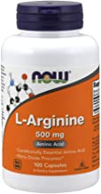 NOW Supplements, L-Arginine 500 mg, Nitric Oxide Precursor*, Amino Acid, 100 Capsules