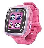 Vtech–3480–161857 Kidizoom Smart Watch Montre connectée pour enfant avec écran tactile – Couleur: rose ,Jouet en Espagnol