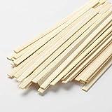 """jalz jalz Coffee Stir Sticks Straw Natural Bamboo 500 Count 5.5"""" BPA Free Eco-Friendly Beverage Stirrers"""