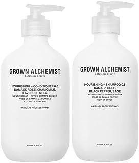 Grown Alchemist Nourishing 0.6 Hair Care Set (Hair Shampoo, 200 ml + Conditioner, 200 ml), 400 ml