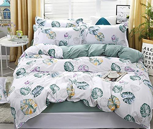 BGDF Multi Colour Duvet Covers Double Bed Winter Duvet Cover Duvet Protector Allergenic Waterproof Duvet,K,Super King