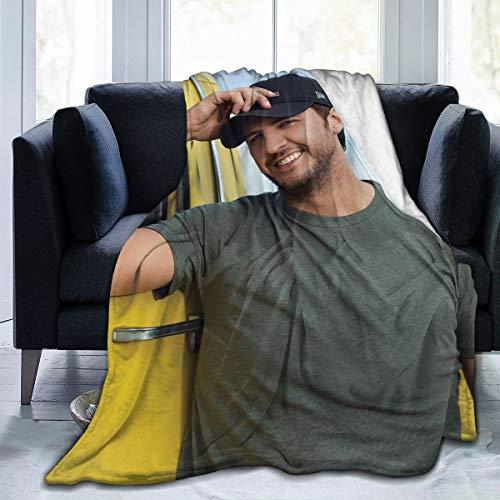 KOTHER Bedding Soft Blanket Not Pilling Cozy Good for Camp Sofa Bed etc