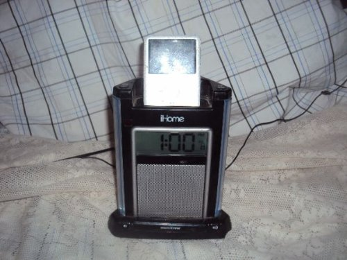 iHome iH4B Alarm Clock For iPod