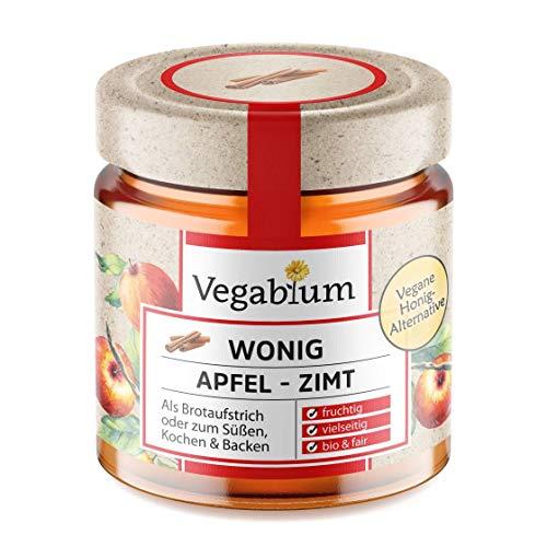 Vegablum Wonig Apfel-Zimt bio - Die vegane Alternative zu Honig, 225 g
