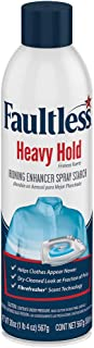 FAULTLESS Heavy Spray Starch 20 oz Cans (Pack of 4)