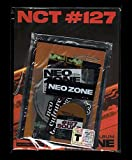 NCT #127 2nd Album Neo Zone (versión T) CD + póster plegable + libro de fotos + pegatinas + tarjeta lenticular + pegatinas + tarjeta de fotos + tarjeta circular + (5 tarjetas fotográficas)