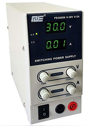 Komerci PS3005N Labornetzgerät Labornetzteil Stromversorgung Transformator regelbares Schaltnetzteil 30V, 5A Beige