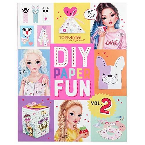 Depesche 10956 DIY Paper Fun, TOPModel, ca. 21,5 x 27,5 x 1 cm