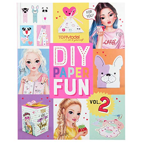 Depesche- DIY Paper Fun, Top Model, Aprox. 21,5 x 27,5 x 1 cm. (10956)