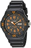 Casio Unisex MRW200H-4BV ''Neo-Display'' Black Watch