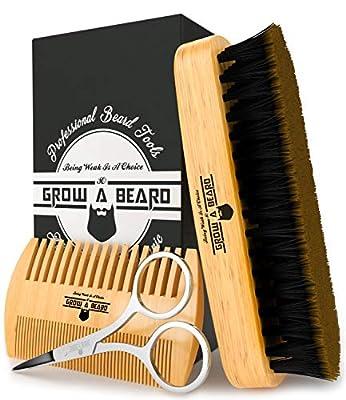Beard Comb & Brush