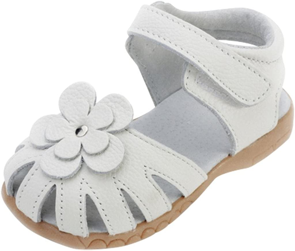 Annnowl Baby Girls Sandals for Summer with Bows