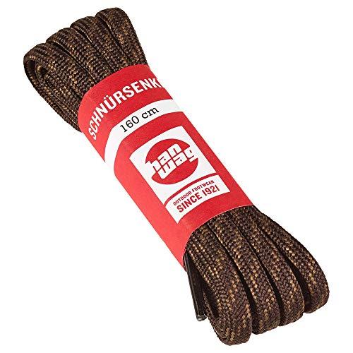 Hanwag Schnürsenkel Länge 180 cm Erde-Brown