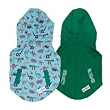Lucy & Co. Reversible Raincoat for Dogs (Pets) - Dog Raincoat - Dog Raincoats for German Shepherd,...