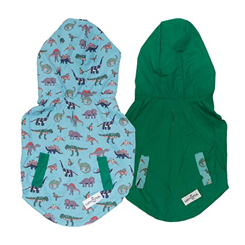 Lucy & Co. Reversible Raincoat for Dogs (Pets) - Dog Raincoat - Dog Raincoats...
