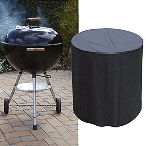 ANNIUP, Copertura Antipolvere per Barbecue, Impermeabile, Rotonda, 77 cm di Diametro x 58 cm di Altezza