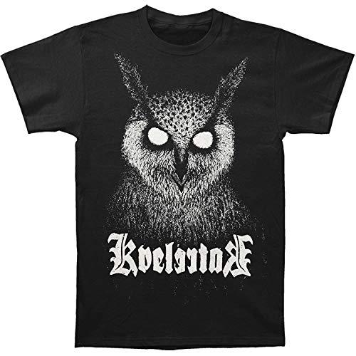 Fashion Mens T Shirt Men Summer T Shirt Printed Kvelertak Mens Bartlett Owl T Shirt