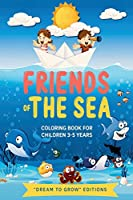 Friends of the sea: Coloring book for children 3-5 years