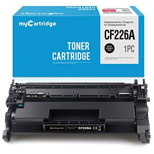 myCartridge Compatible HP 26A CF226A Cartucho de Tóner Negro para HP Laserjet Pro M402dne M402n M402dn M402dw M402d MFP M426dw MFP M426fdn MFP M426fdw Impresora