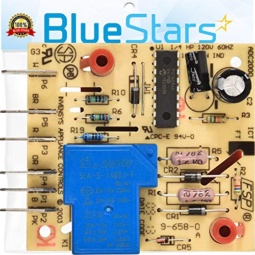 W10352689 Refrigerator Main Control Board Replacement Part by Blue Stars – Exact Fit For Whirlpool & Kenmore Refrigerators