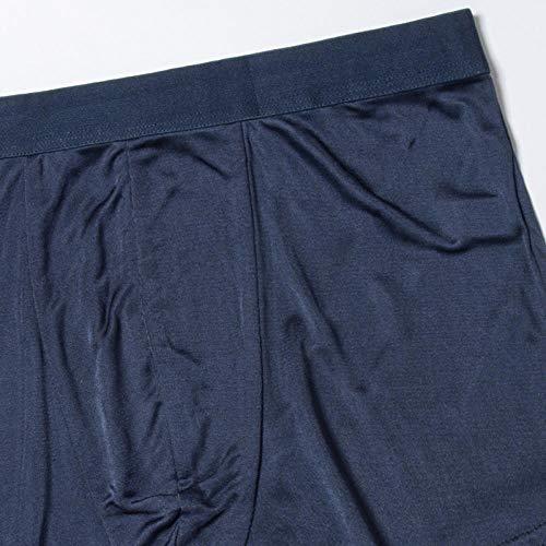 Bayrick Tech Sports Underwear 4 Piezas de Ropa Interior Masculina de Seda de Morera de Punto de Seda-VS_3XL