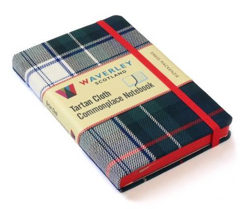 Dress MacKenzie: Waverley Genuine Tartan Cloth Commonplace Notebook (Waverley Scotland Tartan Cloth Commonplace Notebooks/Gift/stationery/plaid)
