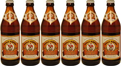 Brauerei Schleicher - Itzgrunder Landbier (6 Flaschen) I Bierpaket von Bierwohl