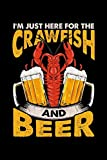 I'm Just Here For The Crawfish and Beer: College Ruled Lined Paper, 120 pages, 6 x 9