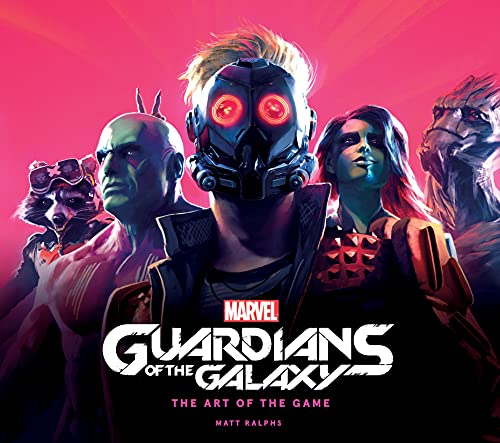 Marvel's Guardians of the Galaxy: The Art of the Game