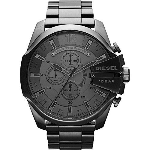 Diesel Herren-Uhren Analog Quarz One Size 86236958