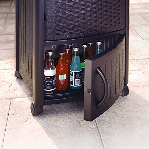 Suncast Resin Wicker Outdoor Cooler