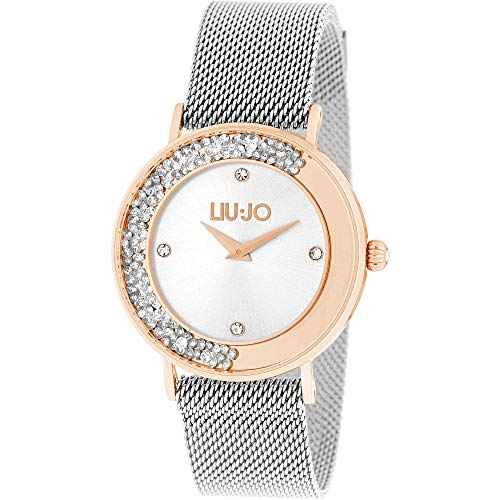 Orologio Donna Dancing Slim Silver Rose Liu Jo Luxury