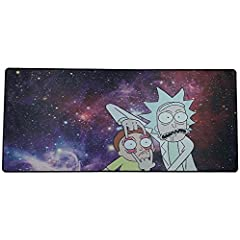 〖XXL/XL Size Big Mouse Pad〗:900mm×400mm×2mm .Large enough for your mouse,keyboard even desk.Perfect for gaming and office 〖Superior control Gaming Desk Mat〗: Textile-weave surface designed for pixel-precise targeting and low friction tracking 〖No Fra...
