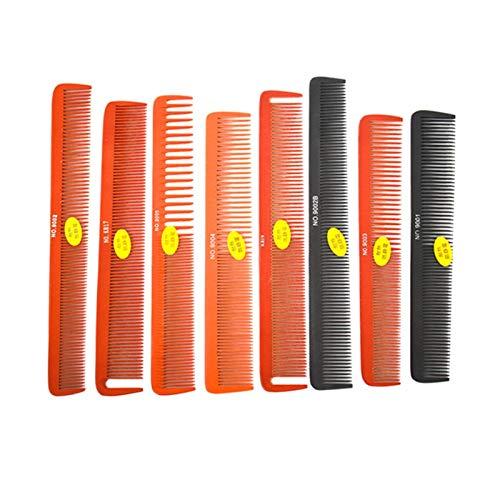 Changskj Peine de peluquería Peine Profesional barbero Peine de Corte de peluquería Peine Peine Que Labra la Herramienta Pro Hair Salon Care (Color : 9004)