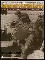 Personal Groupings, Award Documents, and Ephemera of Rommel's Afrikakorps:: Army - Luftwaffe - Kriegsmarine