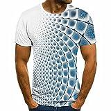 Camiseta De Modelado GeoméTrico 3D Popular De Verano para Hombre, Camiseta Deportiva Informal, Camiseta Divertida, Camisetas Divertidas