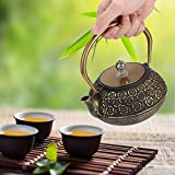Hervidor de té de tetera vintage para colección familiar