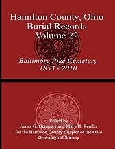 Hamilton County, Ohio, Burial Records - Volume 22: Baltimore Pike Cemetery 1853-2010