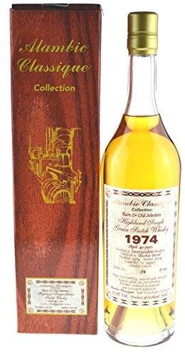 Rarität: Invergordon Jahrgang 1974, 40 Jahre 0,7l mit 57,8% Alambic Classique inkl. Geschenkpackung - Highland Single Grain Scotch Whisky