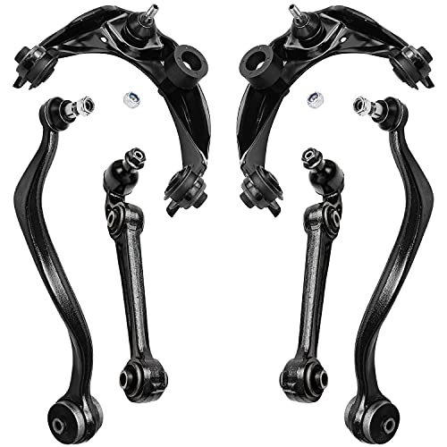 Detroit Axle - Front Lower Upper Control Arms w/Ball Joints Replacement for...