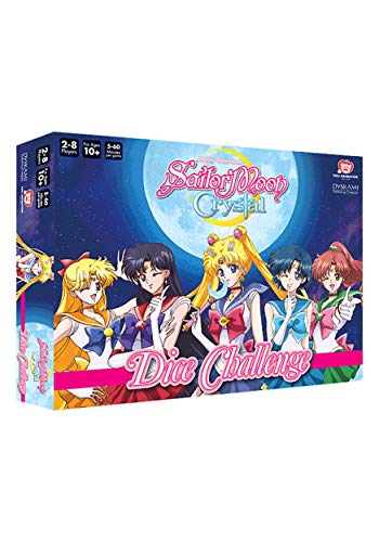 Japanime Games Sailor Moon Crystal: Dice Challenge Base Game, Standard, Multicolor