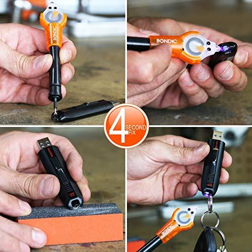 Bondic Refill 4 Gram Liquid Plastic Cartridge UV Adhesive Glue (Pack of 5)