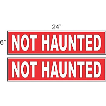 """18/""""x24/"""" Haunted Hayride Sign Halloween Scary Ride Retail Store Sign"""
