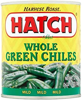 Hatch Chili Company Hatch Whole Green Chilies, 27- Oz (Pack Of 3)