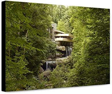 ClassicPix Canvas Free shipping Print 20x30: Fallingwater OFFicial site Known E Also The As