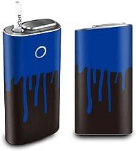 グローシール glo グロー ケース 電子タバコ グロー タバコ グロー シール gloステッカー glo シール スキンシール カバー ステッカー 電子たばこ タバコケース 煙草 垂れペンキ/K (E) glo-q0002-e0125-n