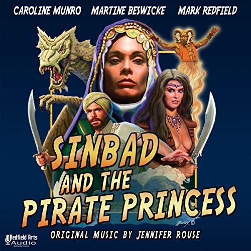 Sinbad and the Pirate Princess Audiobook By Mark Redfield cover art
