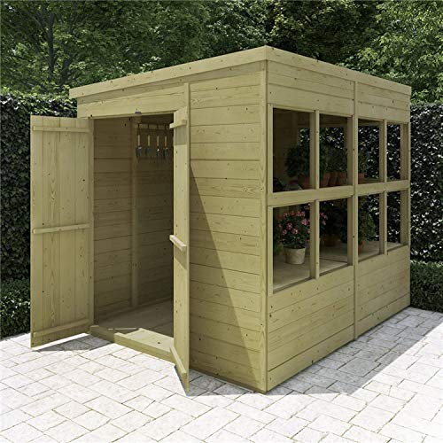 BillyOh | Planthouse Potting Garden Wooden Greenhouse Shed 8x6 12x6 16x6 (8x6)