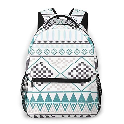 Laptop Rucksack Daypack Schulrucksack Backpack Apache Brown, Business Taschen Freizeit Rucksack Arbeits Schultasche für Herren Männer Schüler Schule