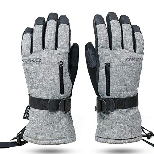 Skihandschoenen voor skiën, waterdicht, met touchscreen warme handschoenen voor snowboardhandschoenen voor dames en heren